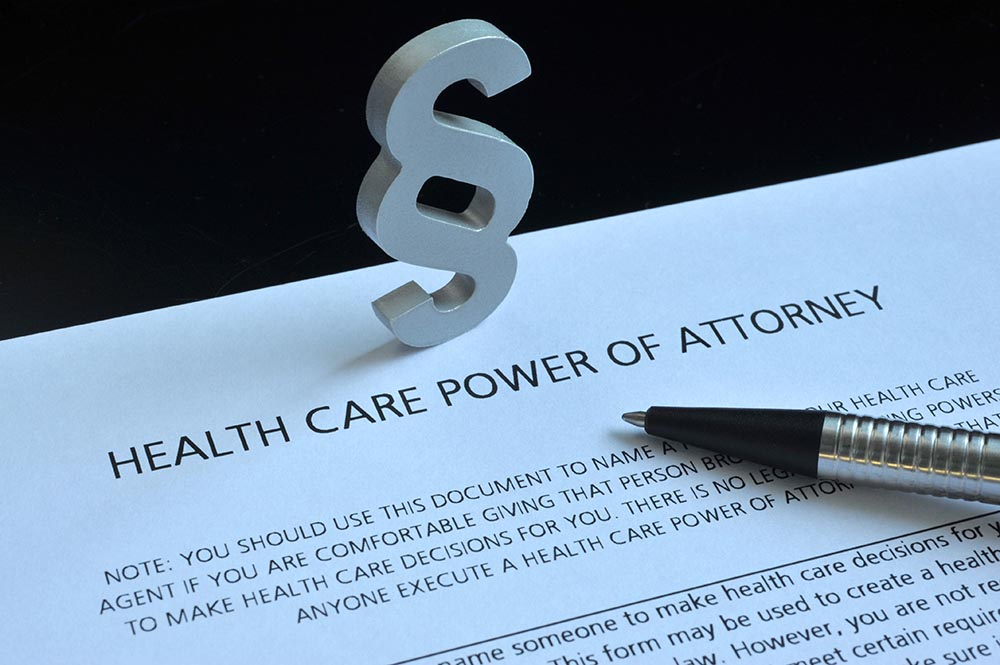 Health Care Power Of Attorney / Health Care Proxy: Specific Or General